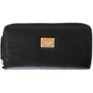 NWOT Kenneth Cole Accordion Zip Wrap Around Wallet